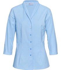 camicetta con colletto a scialle (blu) - bpc selection