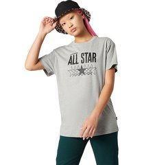 converse camiseta all star relaxed white