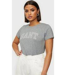 gant arch logo capsleeve t-shirt t-shirts
