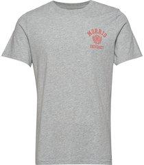 corby tee t-shirts short-sleeved grå morris