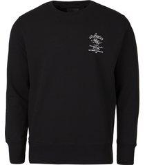 c & s classic-fit sweatshirt black