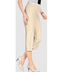 7/8-broek m. collection beige