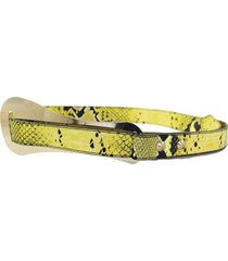 cinturón amarillo almacén de paris