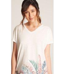 camiseta cuello v blanco 4