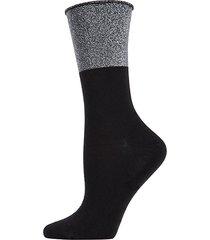 totally awesome metallic crew socks