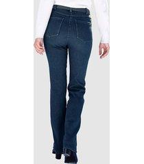 fodrade jeans paola blå