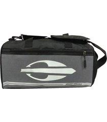 bolsa sacola de viagem em poliéster - mormaii preto