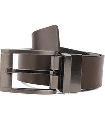 cinturón doble faz café-negro colore