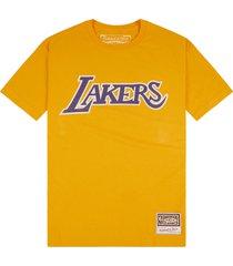 nba la lakers worn logo t-shirt
