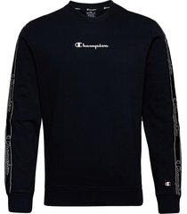 crewneck sweatshirt sweat-shirt tröja svart champion