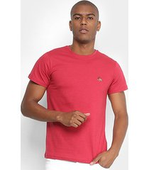 camiseta polo rg 518 bordado color masculina - masculino