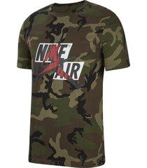 camiseta jordan nike hombre cu2072-222 verde