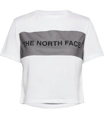 w tnl tee t-shirts & tops short-sleeved vit the north face