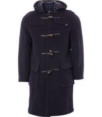 gloverall womens original duffle coat - navy lc3120fc