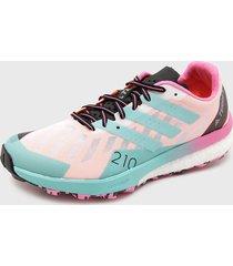 zapatilla de trail running terrex speed ultra w multicolor adidas outdoor