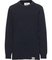 eco wool karstino pullover blauw mads nørgaard