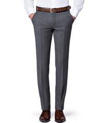 spodnie szare flanelowe diego