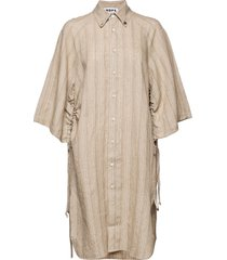 pinch dress dresses shirt dresses beige hope