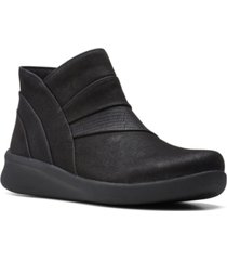 clarks cloudsteppers women's sillian 2.0 rise booties women's shoes