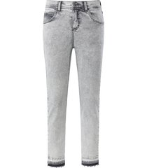 skinny-7/8-jeans model ornella fringe van angels grijs