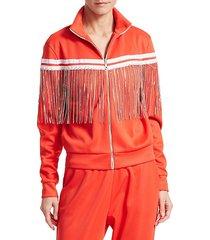 fringe track jacket