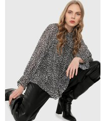 blusa animal print paris district
