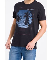 camiseta masculina high summer preta calvin klein jeans - pp