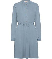 bianca dress knälång klänning blå soft rebels