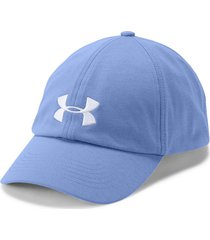 gorra under armour microthread renegade para mujer - azul