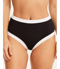 icon riviera high waist shaping bikini bottom