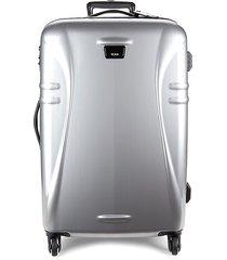 tumi medium trip spinner suitcase - silver