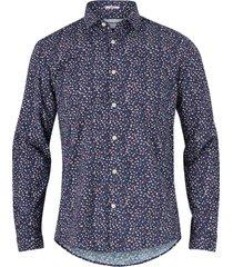 skjorta ditsy floral print shirt l/s