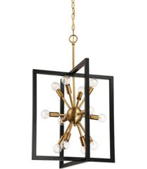 designers fountain xander 12 light pendant