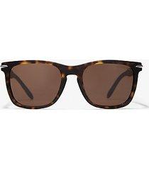 mk occhiali da sole halifax - tartaruga (marrone) - michael kors