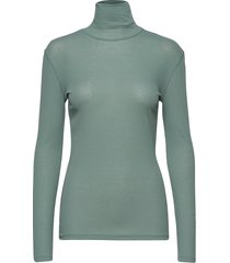 alaina top t-shirts & tops long-sleeved groen filippa k