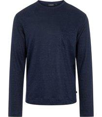davis linen t-shirt