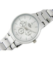reloj plateado montreal