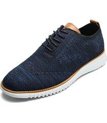 zapato de amarrar azul royal pierre cardin pc7259-c