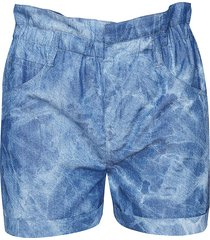 paperbag shorts kate  blauw