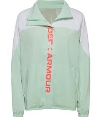 recover woven cb jacket outerwear sport jackets grön under armour
