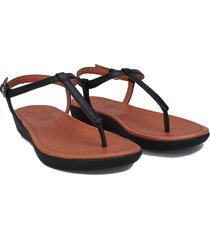 womens tia leather toe thong sandals