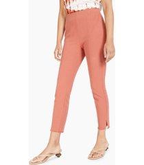 alfani fringe-hem pull-on pants, created for macy's