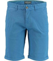 bos bright blue albert chino short all over p 19109al03sb/268 jeans blue
