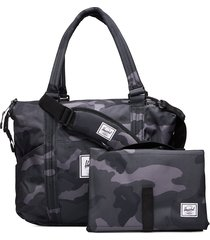 strand sprout-night camo bags top handle bags zwart herschel