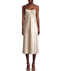 vince women's scoopneck slip dress - verbana - size xs