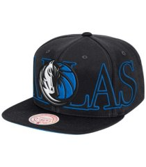 mitchell & ness dallas mavericks winners circle snapback cap