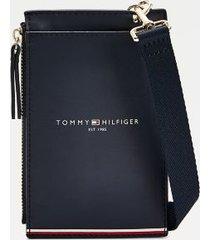 tommy hilfiger women's icon phone wallet desert sky -