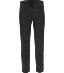 pantalon descanso estampado color negro, talla s