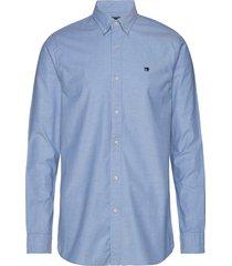 nos oxford shirt regular fit button down collar overhemd business blauw scotch & soda