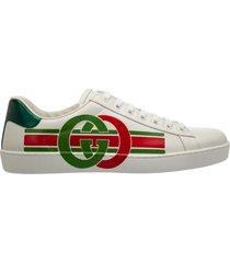 scarpe sneakers uomo in pelle ace